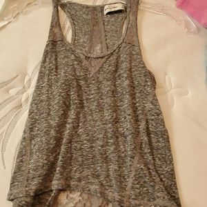 Girls tank top with lace